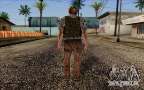 Dixon from ArmA II: PMC pour GTA San Andreas deuxième écran