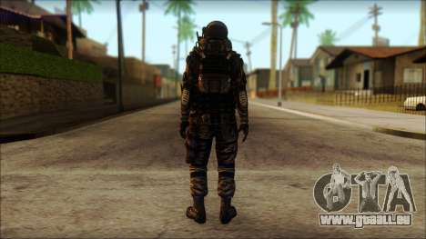 Наемник (Tom Clancy Splinter Cell: Blacklist) pour GTA San Andreas deuxième écran