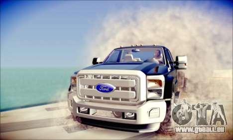 Ford F450 Super Duty 2013 HD für GTA San Andreas