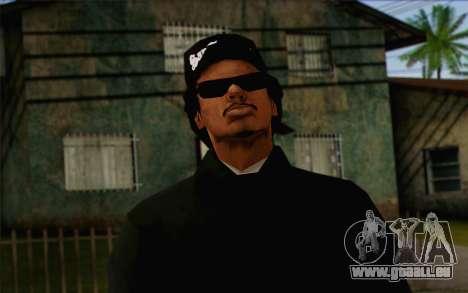 N.W.A Skin 3 pour GTA San Andreas troisième écran