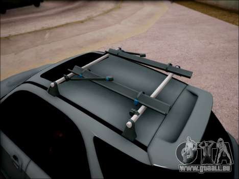 Subaru Impreza Wagon 2002 für GTA San Andreas Rückansicht