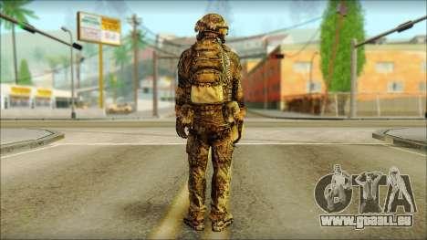 Combattant OGA (MoHW) v3 pour GTA San Andreas deuxième écran
