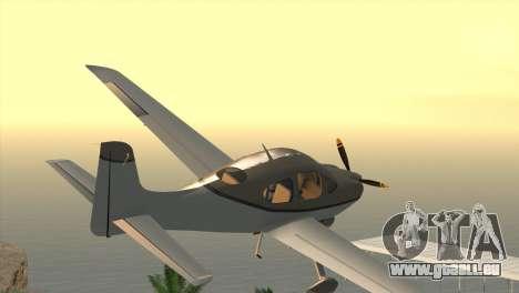 Cirrus SR-22 pour GTA San Andreas laissé vue