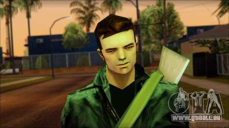 Gun and No Shades Claude für GTA San Andreas dritten Screenshot