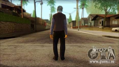 GTA 5 Ped 16 pour GTA San Andreas deuxième écran
