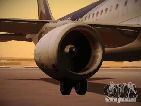 Airbus A320-214 LAN Airlines 100th Plane pour GTA San Andreas roue