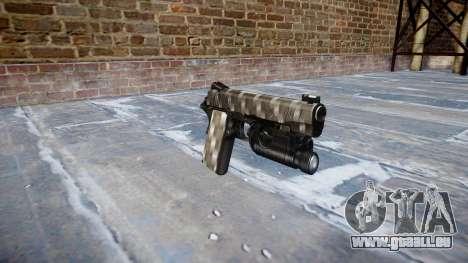 Gun Kimber 1911 Carbon Fiber für GTA 4