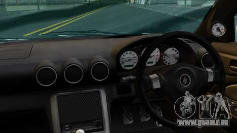 Nissan Silva S15 Turkish Drift pour GTA San Andreas sur la vue arrière gauche
