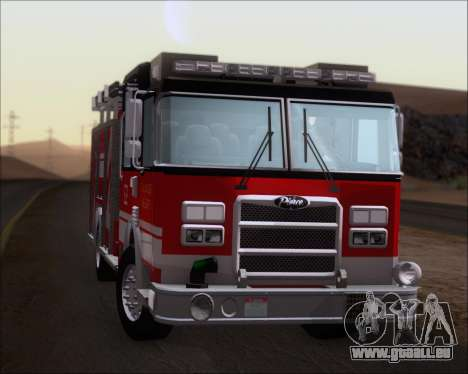 Pierce Arrow XT TFD Engine 2 für GTA San Andreas Rückansicht