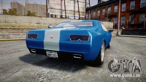 GTA V Bravado Gauntlet pour GTA 4 Vue arrière de la gauche