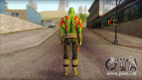 Guardians of the Galaxy Drax pour GTA San Andreas deuxième écran