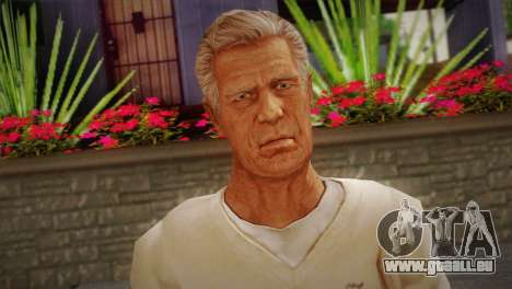 Frank Sunderland From Silent Hill: The Room pour GTA San Andreas troisième écran