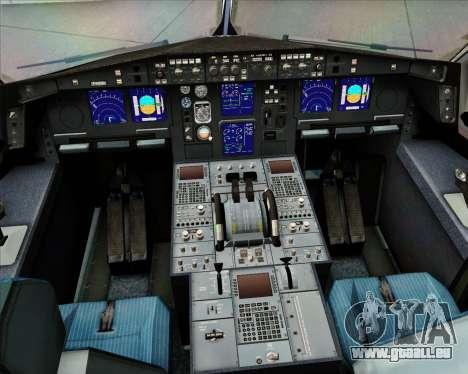 Airbus A330-300 EgyptAir pour GTA San Andreas salon