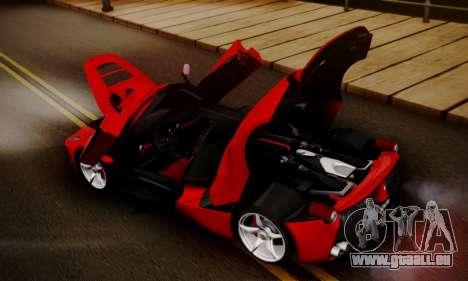 Ferrari LaFerrari F70 2014 pour GTA San Andreas