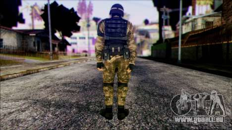Soldier from Prototype 2 für GTA San Andreas zweiten Screenshot