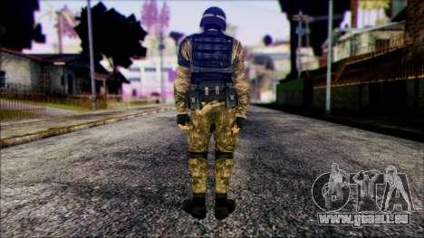 Soldier from Prototype 2 pour GTA San Andreas deuxième écran