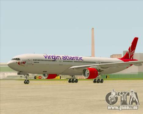 Airbus A330-300 Virgin Atlantic Airways für GTA San Andreas Innenansicht