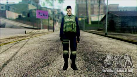 SWAT from Beta Version pour GTA San Andreas