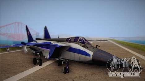 MIG-31 from H.A.W.X. für GTA San Andreas