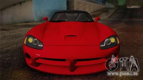 Dodge Viper SRT-10 2003 pour GTA San Andreas vue de droite