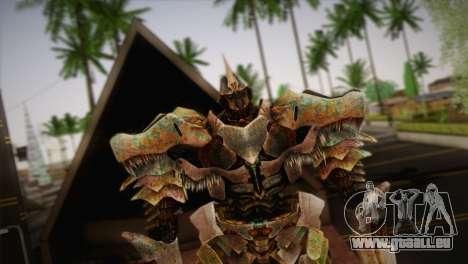 Grimlock v2 pour GTA San Andreas troisième écran