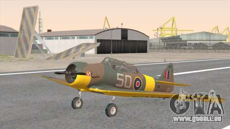 North American T-6 TEXAN FX215 pour GTA San Andreas