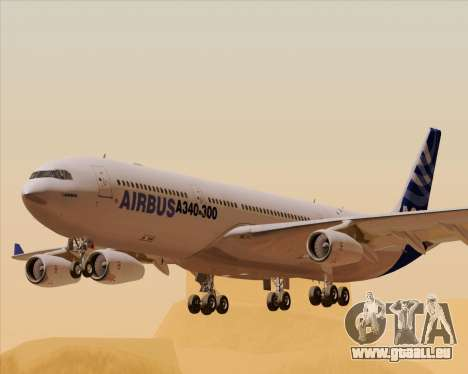 Airbus A340-311 House Colors für GTA San Andreas