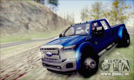 Ford F450 Super Duty 2013 HD pour GTA San Andreas vue de droite
