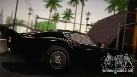 GTA 5 Stinger GT (IVF) pour GTA San Andreas sur la vue arrière gauche
