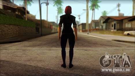 Mass Effect Anna Skin v6 pour GTA San Andreas deuxième écran