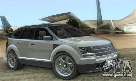 Vapid Radius 1.0 (HQLM) pour GTA San Andreas