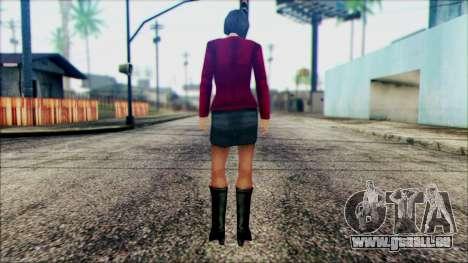 Manhunt Ped 10 pour GTA San Andreas deuxième écran