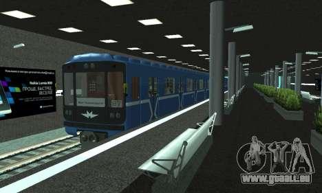 Une nouvelle station de métro de San Fierro pour GTA San Andreas dixième écran