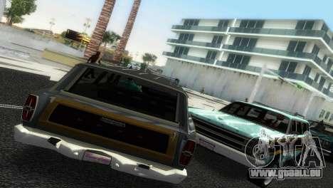 Ford Country Squire pour une vue GTA Vice City de la gauche