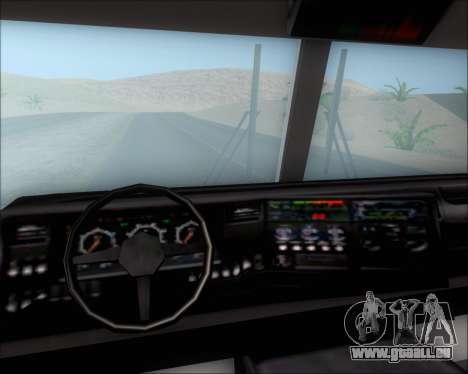 Pierce Arrow XT TFD Engine 2 für GTA San Andreas obere Ansicht