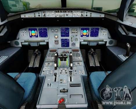 Airbus A321-200 British Airways pour GTA San Andreas salon