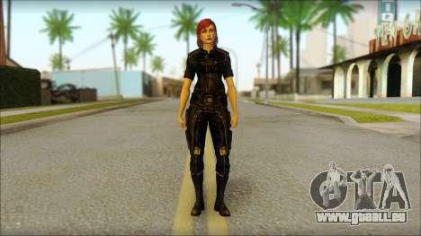 Mass Effect Anna Skin v7 pour GTA San Andreas