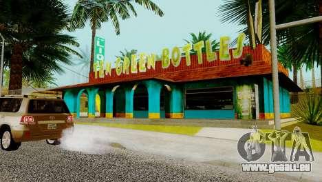 La nouvelle barre en Ganton pour GTA San Andreas