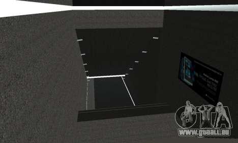 Eine neue U-Bahn-station in San Fierro für GTA San Andreas neunten Screenshot