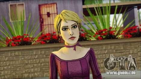 Vivian from Wolf Among Us für GTA San Andreas dritten Screenshot