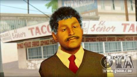 GTA 5 Ped 15 pour GTA San Andreas troisième écran
