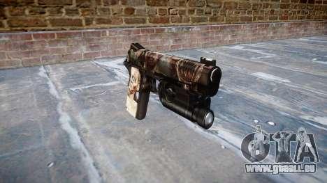 Pistolet Kimber 1911 Zombies pour GTA 4