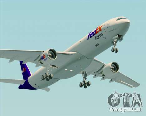 Airbus A330-300P2F Federal Express pour GTA San Andreas vue intérieure