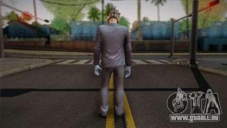 Hoxton From Pay Day 2 v1 pour GTA San Andreas deuxième écran