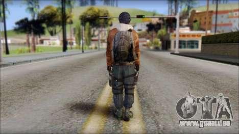 Division Skin für GTA San Andreas zweiten Screenshot