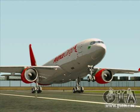 Airbus A330-243F Avianca Cargo für GTA San Andreas Räder