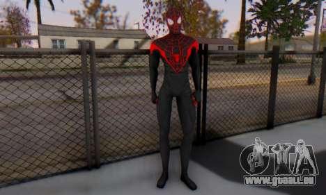 Skin The Amazing Spider Man 2 - New Ultimate pour GTA San Andreas deuxième écran