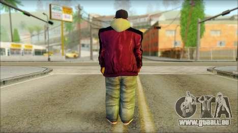 Plen Park Prims Skin 3 für GTA San Andreas zweiten Screenshot