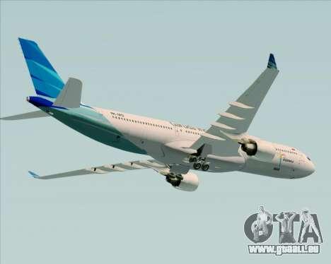 Airbus A330-300 Garuda Indonesia pour GTA San Andreas