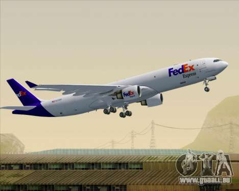 Airbus A330-300P2F Federal Express pour GTA San Andreas roue